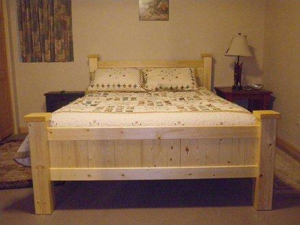 Tempat Tidur Minimalis Kayu Jati Belanda 1