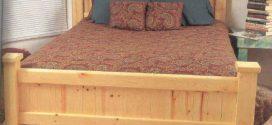 Tempat Tidur Minimalis Kayu Jati Belanda Bekas Palet 2