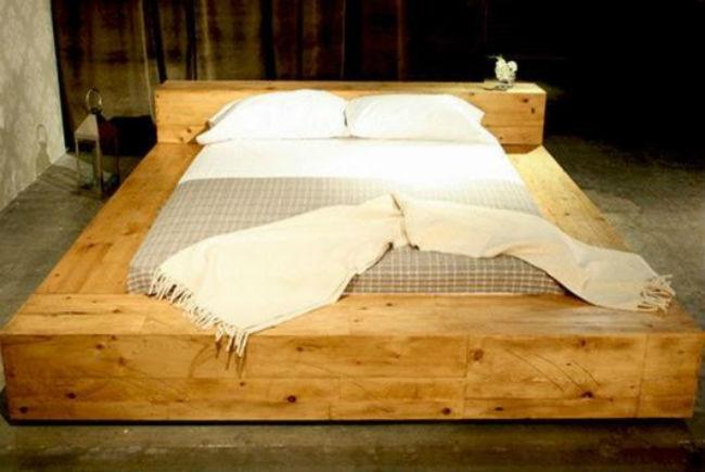 Tempat Tidur Minimalis Kayu Jati Belanda Bekas Palet 3