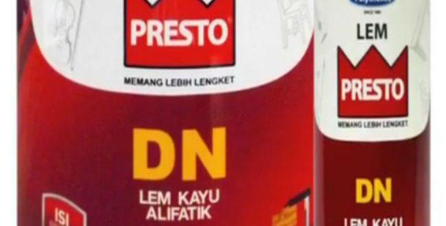Jual Lem Kayu PRESTO DN Untuk Menyambung Kayu Jati Belanda (3)