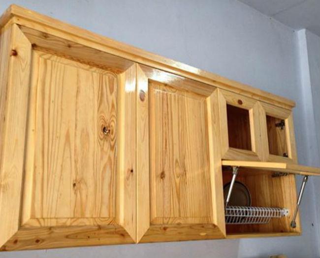 Ide Kreatif Kerajinan dari Limbah Kayu Palet (Jati Belanda) Kitchen