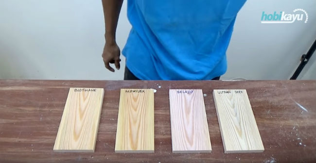 Video Tutorial Finishing Kayu Jati Belanda (Clear Water-based Finish)