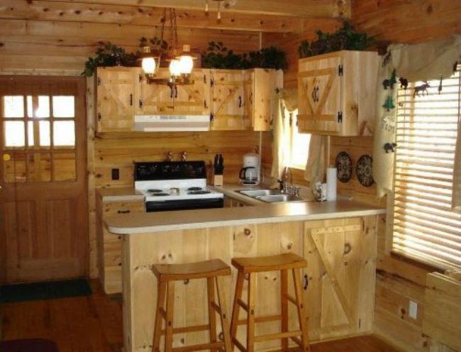Contoh Model Kitchen Set dari Kayu Jati Belanda