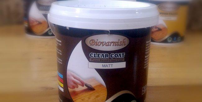 Biovarnish Clear Coat Waterbased