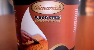 Biovarnish Wood Stain Cat Kayu Transparan Water Based