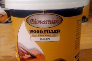 Dempul Kayu Transparan Water Based - Biovarnish Wood Filler